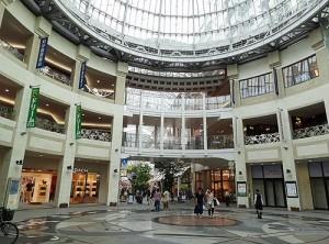 香川県高松市の丸亀町商店街