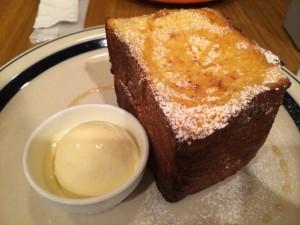ワイヤードカフェのフレンチトースト