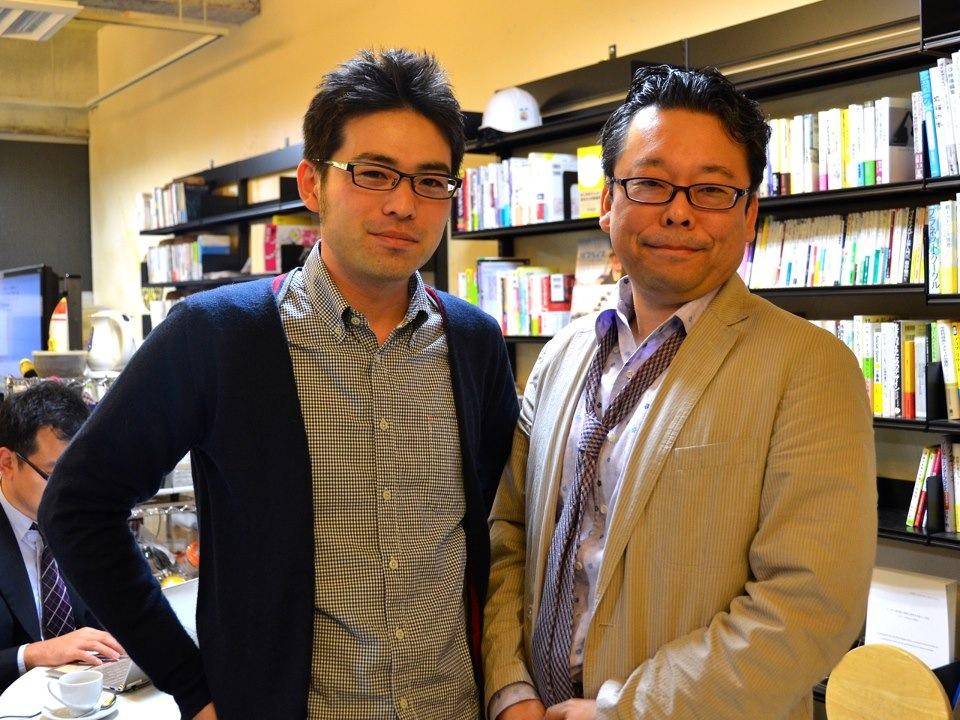 樺沢紫苑先生と長友ツーショット