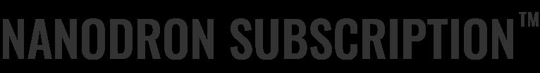 ナノドロンサブスクリプションロゴ